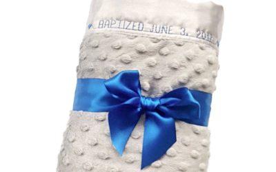 What is a Minky Dot Blanket?